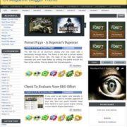 LK Magazine Blogger Templates