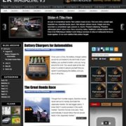 LK Magazine v3 Blogger Templates