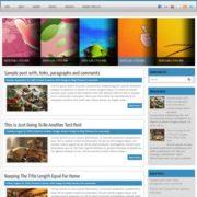 Lafontis Magazine Blogger Templates