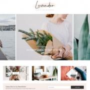 Lavender Blogger Templates