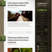 Leatherbound Blogger Templates