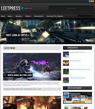 LeetPress Blogger Templates
