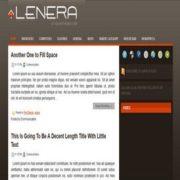 Lenera Blogger Templates