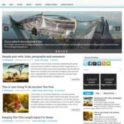 LevelUp Responsive Blogger Templates