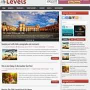 Levels Blogger Templates