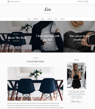 Lex Blogger Templates