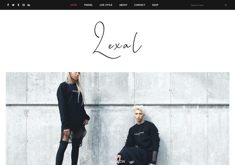 Lexel Blogger Template is an amazing elegant clean looking blogging blogspot theme which is perfectly tailored and brings simplicity into your blog