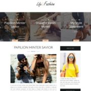 Life Fashion Blogger Templates