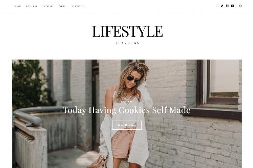 Lifestyle - Personal Blogging Theme