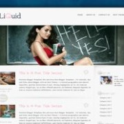 Liquid Blogger Template