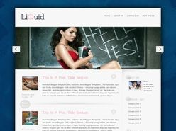 Liquid Blogger Template