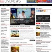 LiveNews Blogger Templates
