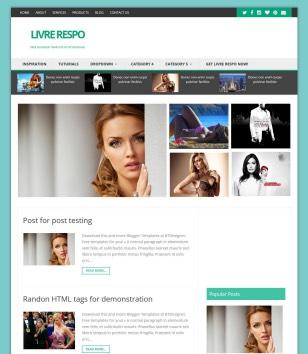 Livre Respo Blogger Templates