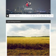 Logbook Responsive Blogger Templates
