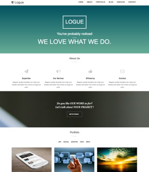 Logue Blogger Templates