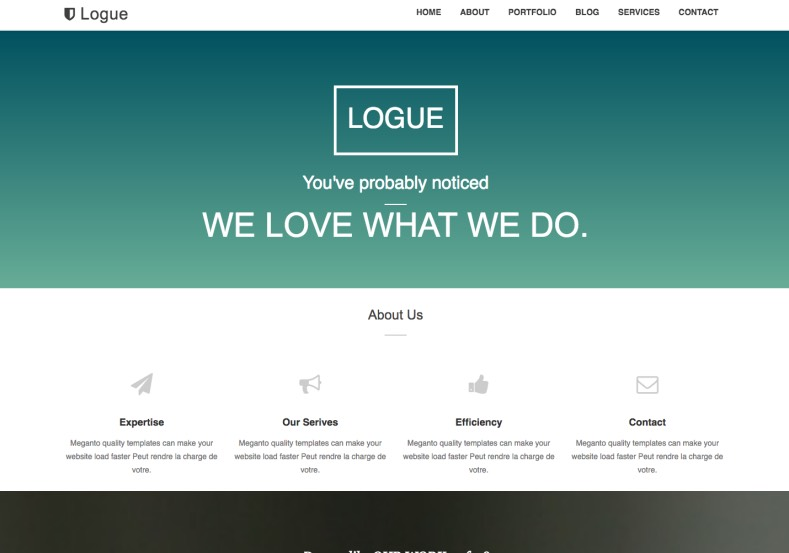 Logue Blogger Template. Best quality one page portfolio blogger templates 2017. Get download one page blogger template to build business portfolio business blogger blogs. Logue Blogger Template.