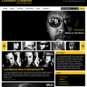London Creative Blogger Templates