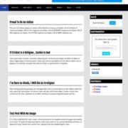 Lord HTML Blogger Templates
