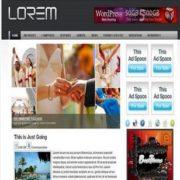 Lorem Blogger Templates