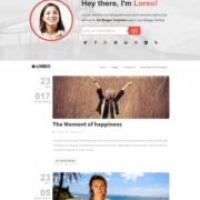 Loreo SEO Blogger Templates
