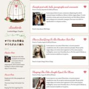 Lovebirds Blogger Templates