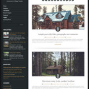 Luminescence Lite Blogger Templates