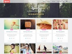 Lycoris Responsive Photography Blogger Template