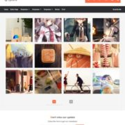 Lycoris v2.1 Blogger Templates