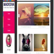 Madeeha Blogger Templates