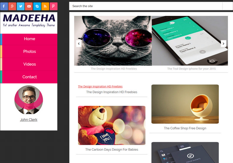 Madeeha Responsive Blogger Template. Blogger Themes. Free Blogspot templates for your blogger blog. Best suitable for news blog templates. Best Ads ready blogspot templates help for add adsense ad code and easily showing adsence ads in your blog. Adapted from WordPress templates are converted from WordPress themes. It is help for take your rich. Blogger magazine template specially designed for magazine blogs. The writers can utilize this themes for take blog attractive to users. Elegant themes are more used themes in most of the blogs. Use minimalist blog templates for rich look for your blog. Free premium blogger themes means, themes authors release two types of themes. One is premium another one is free. Premium templates given for cost but free themes given for no cost. You no need pay From California, USA. $10 USD, or $20 USD and more. But premium buyers get more facilities from authors But free buyers. If you run game or other animation oriented blogs, and you can try with Anime blog templates. Today the world is fashion world. So girls involve to the criteria for make their life fashionable. So we provide fashion blogger themes for make your fashionable. News is most important concept of the world. Download news blogger templates for publishing online news. You can make your blog as online shopping store. Get Online shopping store blogger template to sell your product. Navigation is most important to users find correct place. Download drop down menu, page navigation menu, breadcrumb navigation menu and vertical dropdown menu blogspot themes for free. Google Guide to blogging tips and tricks for bloggers. Google bloggers can get blogspot trick and tips for bloggers. Blog templates portfolio professional blogspot themes, You can store your life moments with your blogs with personal pages templates. Video and movie blogs owners get amazing movie blog themes for their blogs. Business templates download. We publish blogger themes for photographers. Photographers ea