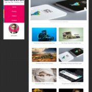 Madeeha Slide Blogger Templates