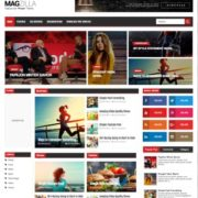 Mag Zilla Blogger Templates