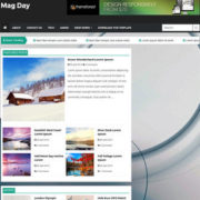 Mag day Responsive Blogger Templates