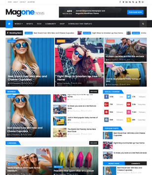 MagOne Responsive Blogger Templates