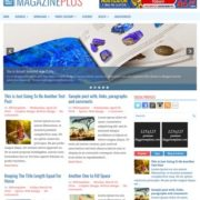 MagazinePlus Blogger Templates
