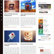 Magfolio Blogger Templates