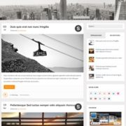 Magnet Responsive Blogger Templates