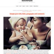 Magnifique Blogger Templates