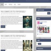 Magozine Blogger Templates