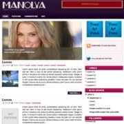 Manolya Blogger Templates