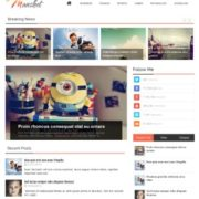Manshet Magazine Blogger Templates