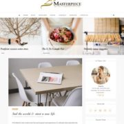 Masterpiece Carousel Blogger Templates