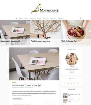Masterpiece Carousel Blogger Template