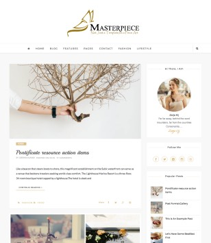Masterpiece Standard Blogger Templates