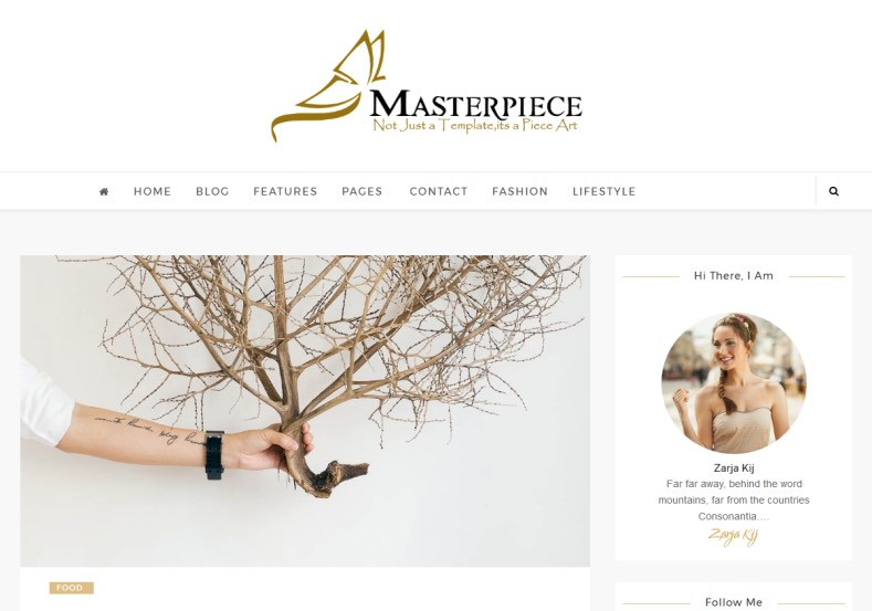 Masterpiece Standard Blogger Template best themes for blogspot themes
