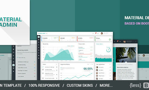 Material Admin - Bootstrap Admin HTML5 App