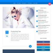 Material Blogger Templates
