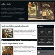 Matias Magazine Blogger Templates