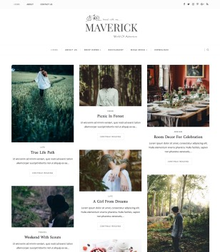 Maverick Blogger Templates