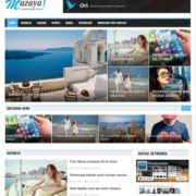 Mazaya Blogger Templates